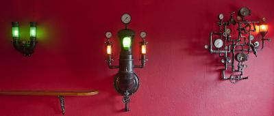Lampen zusammen